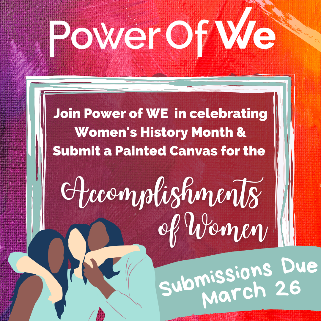 Power of WE Community Canvas Event: Accomplishments of Women
