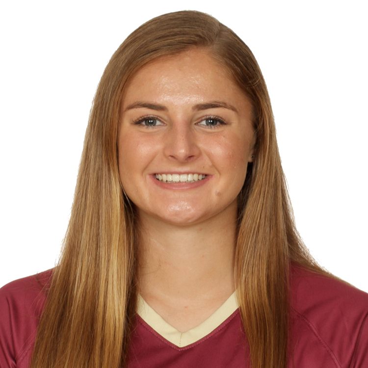 Linked image-Kristina Lynch-Recent graduate, Honors Outstanding Senior Scholar and recipient of NCAA Elite 90 Award in women's soccer. Link to full write-up on seminoles.com sports website.